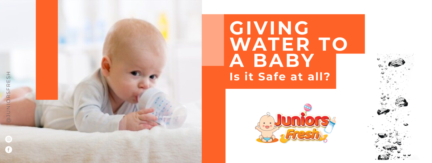 Is it safe to give baby a water?