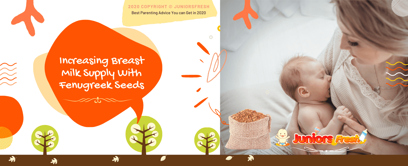 How can I use fenugreek to increase my breast milk supply