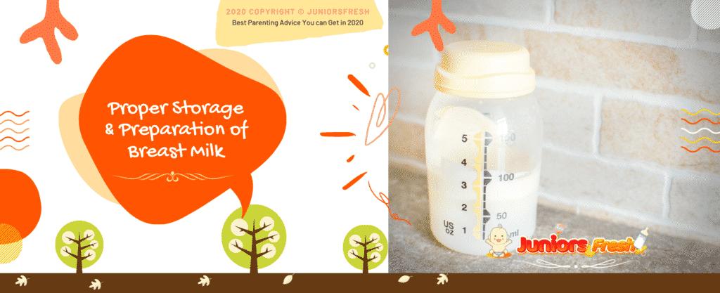 Proper Storage and Preparation of Breast Milk