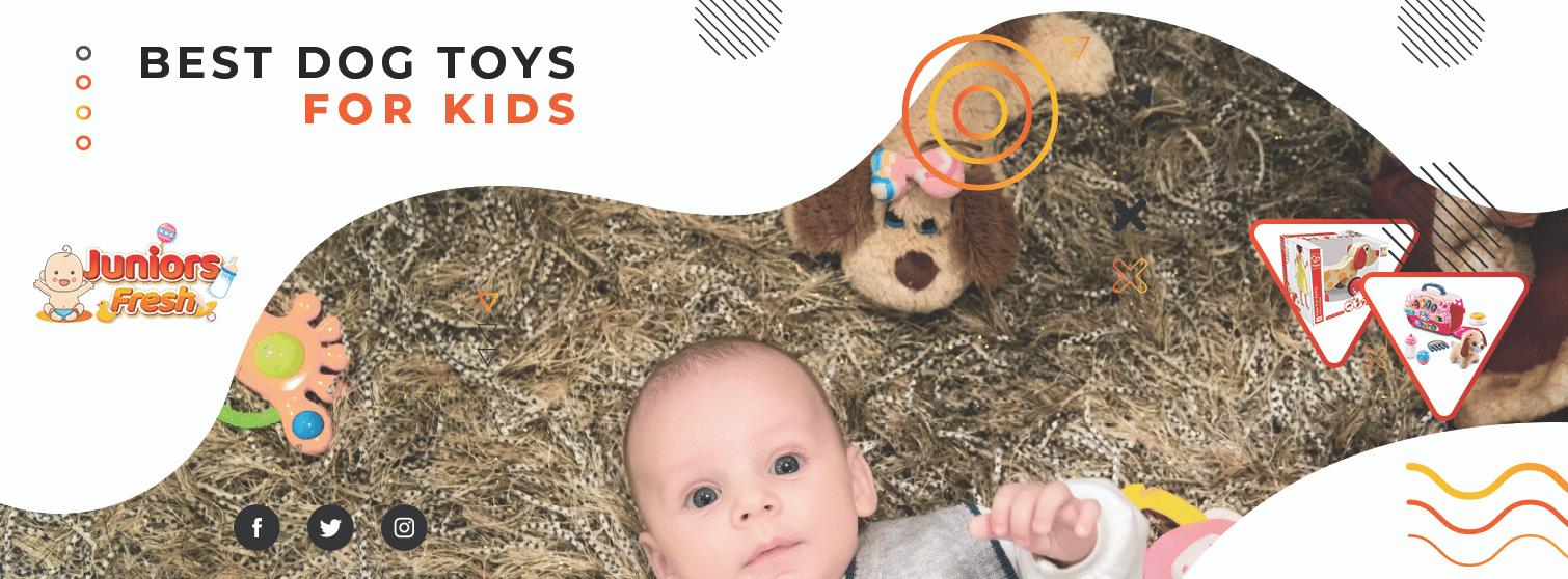 Adorable Dog Toys for Kids